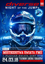 Diverse NIGHT of the JUMPs: motocykle i rowery wracają do Krakowa